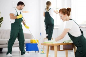 Clean up your personal property and furniture